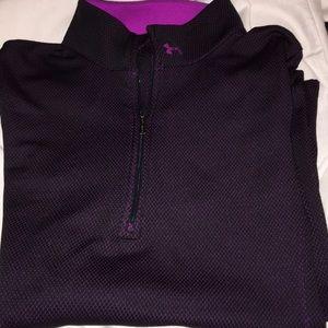 under armour 1/4 zip pullover